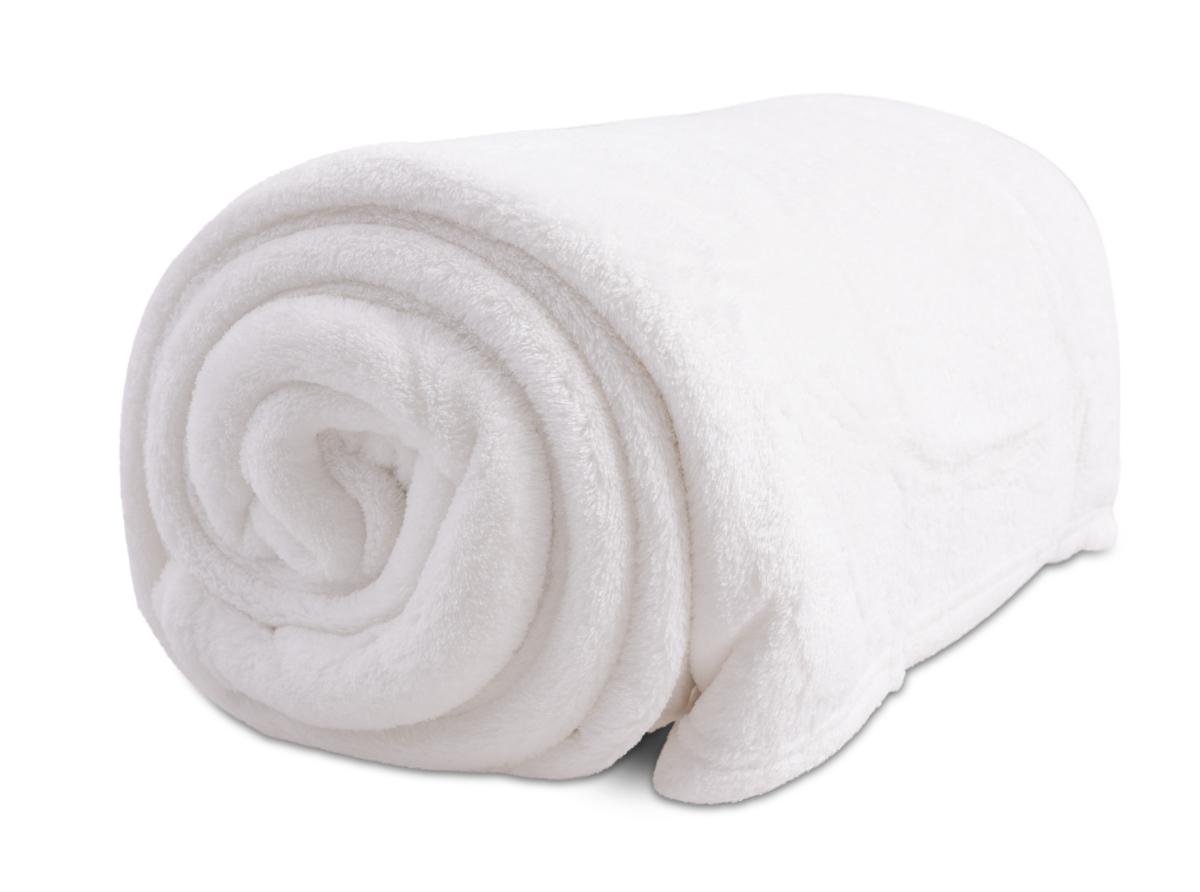LAGOON přikrývka bílá 150 x 200 cm