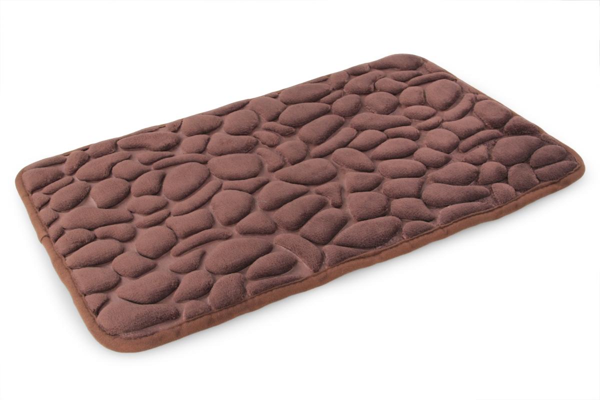 Koupelnová předložka ANATOMIXX, čokoládová 60 x 80 cm