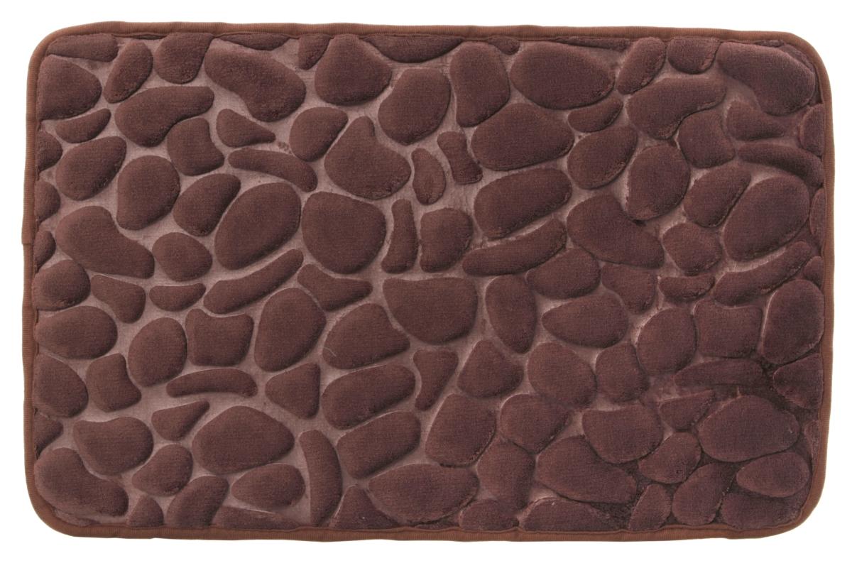 FC911941-Kúpeľňová predložka ANATOMIXX, čokoládová 60 x 80 cm