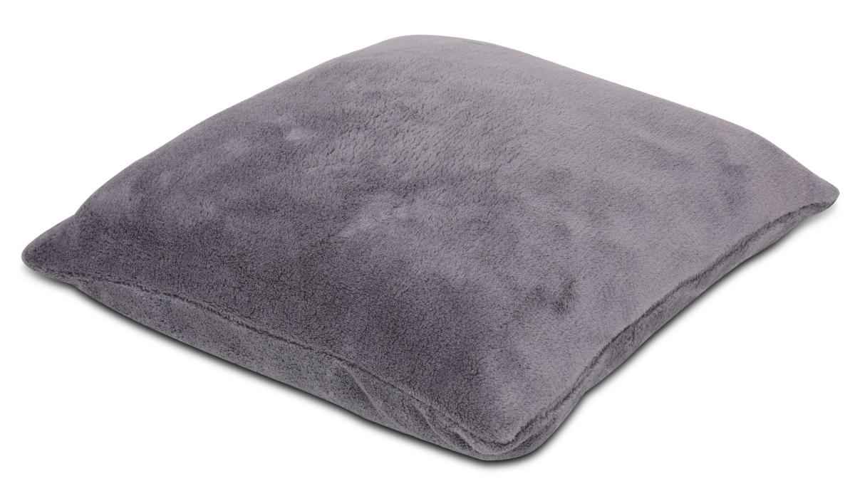 LAGOON potah na polštář šedý