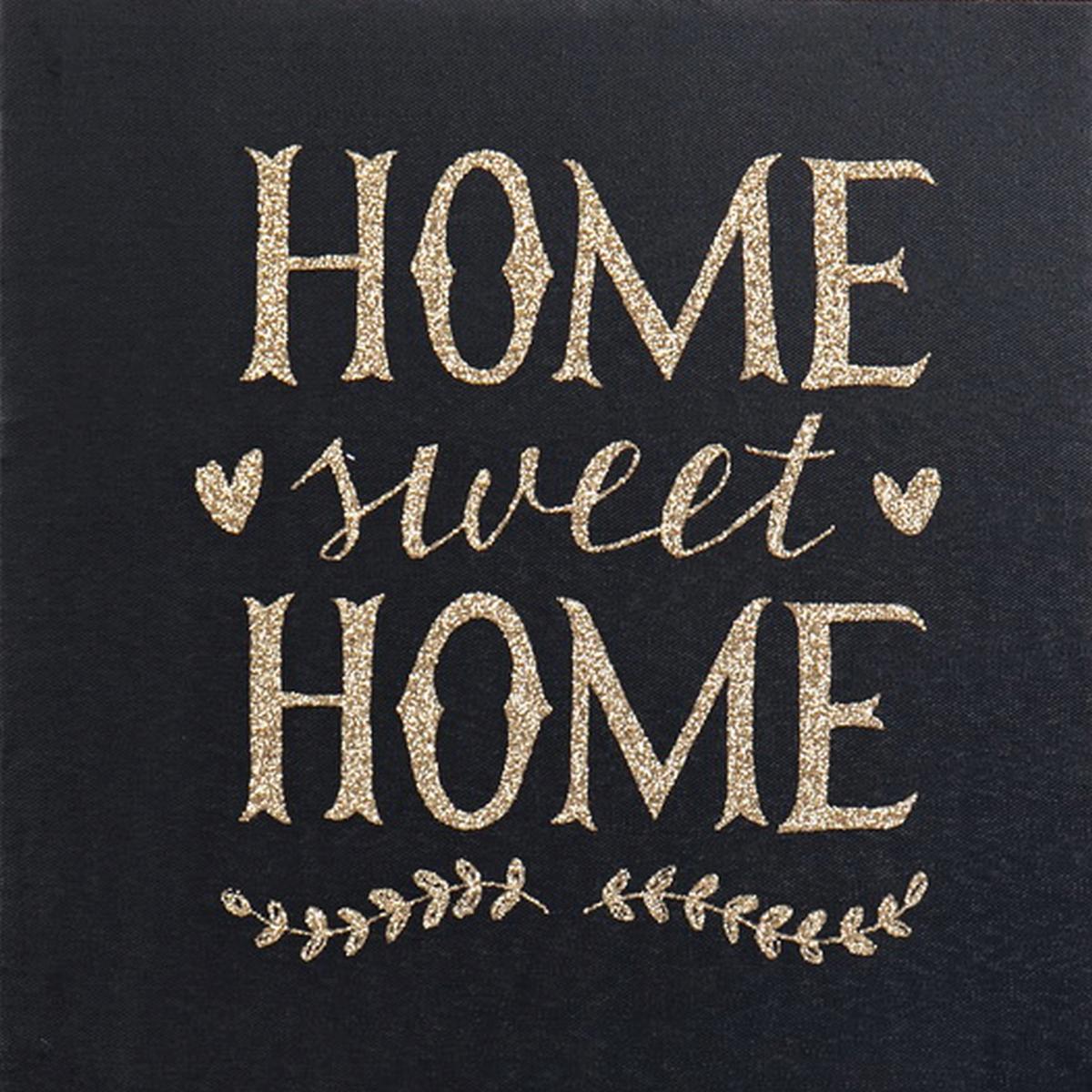 OBRAZ na plátne 28x28 cm - Home Sweet Home