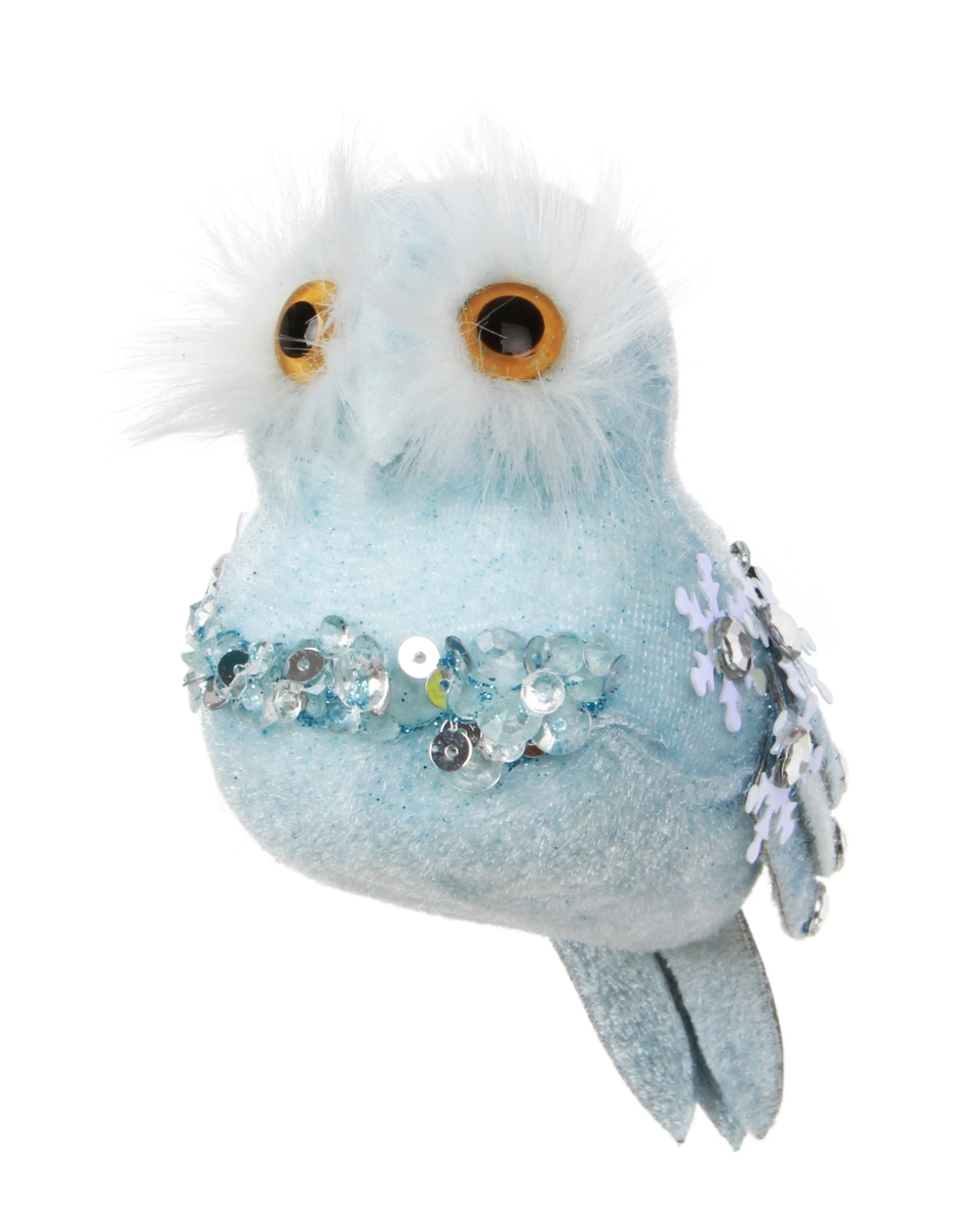 Modrá sova WHITE&BLUE