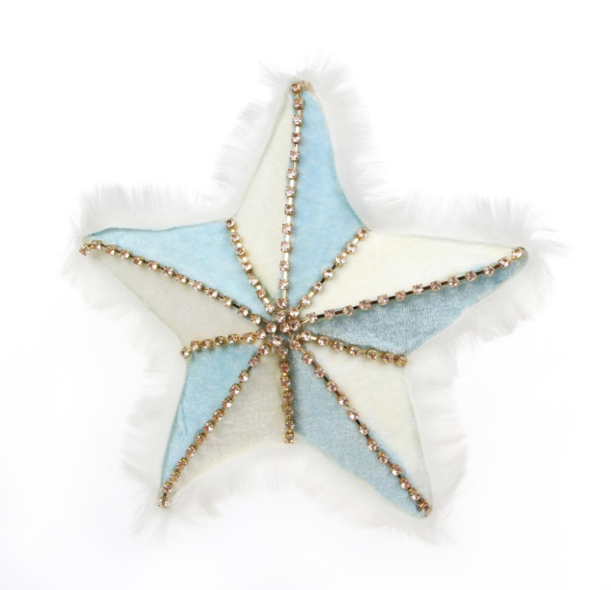 20 cm Hvězda velká WHITE&BLUE