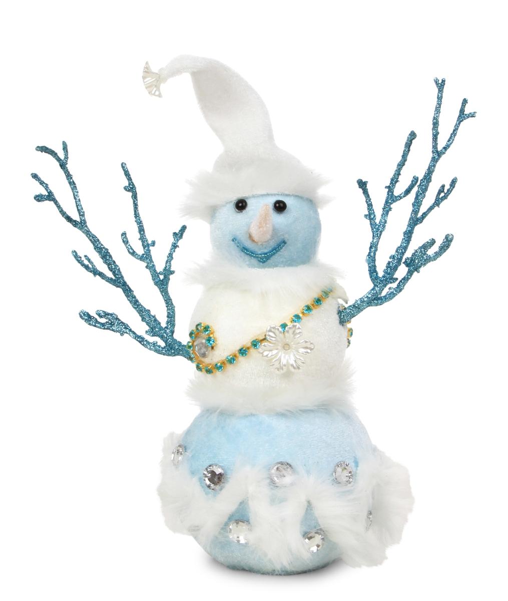 29 cm vysoký sněhulák WHITE&BLUE