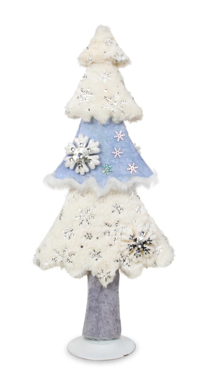 53 cm vysoký stromek  WHITE&BLUE
