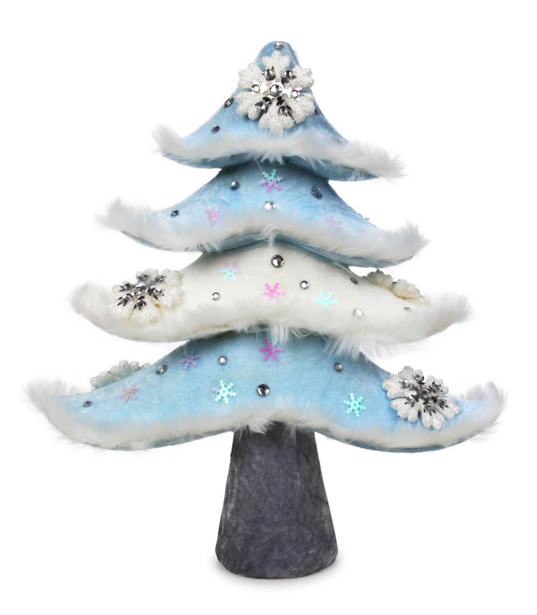 Dekorativní stromek, WHITE&BLUE