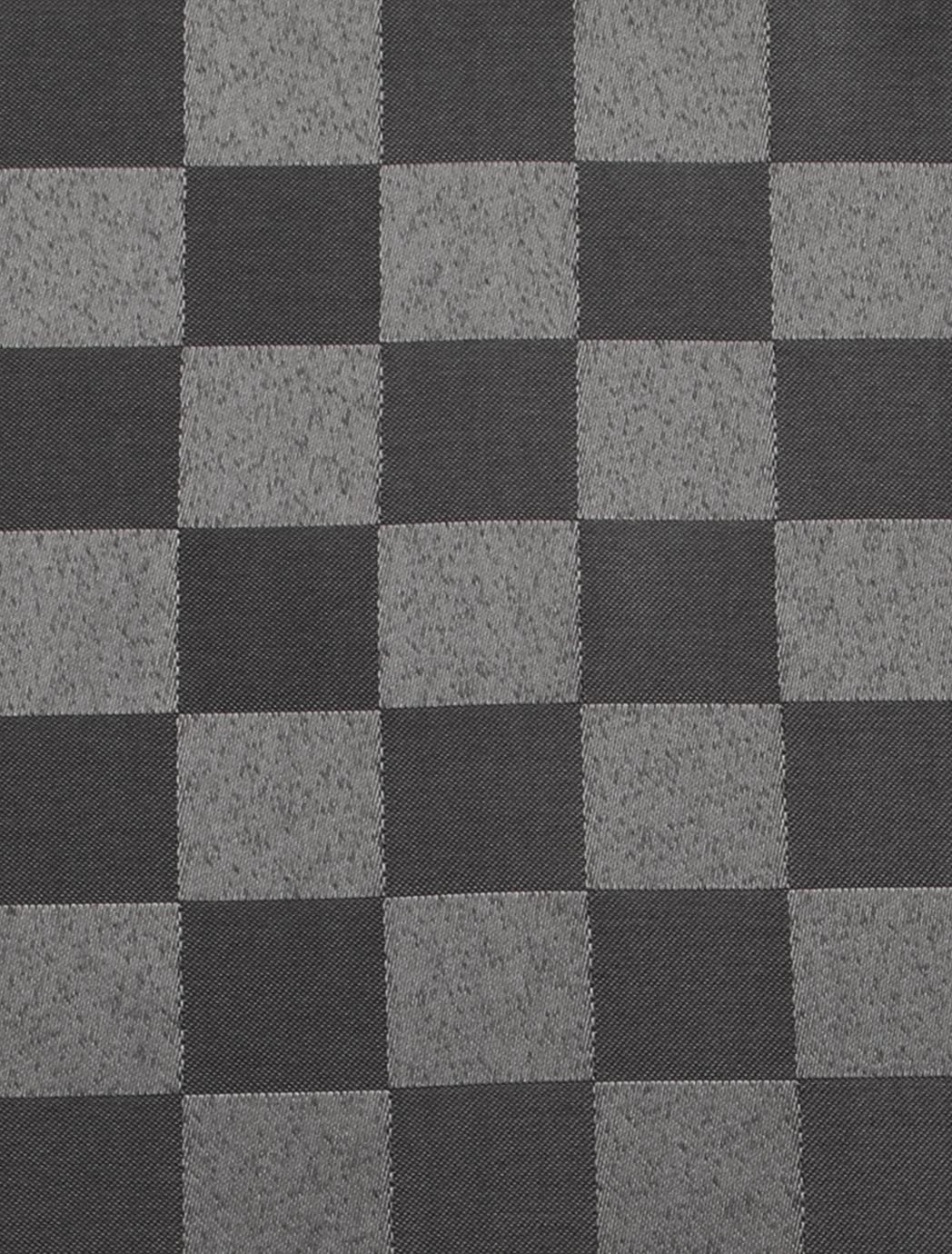 KÁRO UBRUS 140 x 180 cm šedo stříbrný