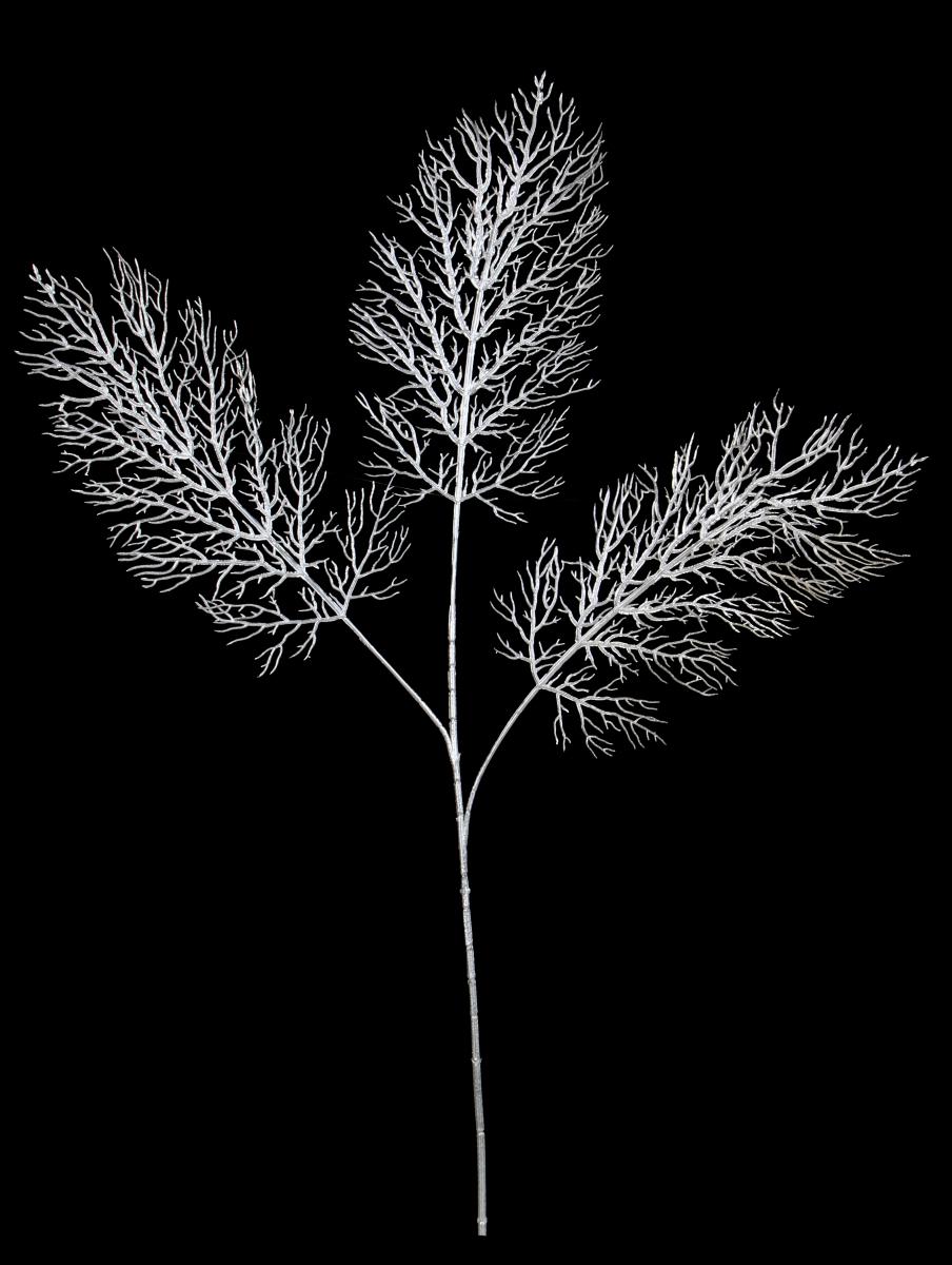 Ratolest stromu, 3 dílná, stříbrná