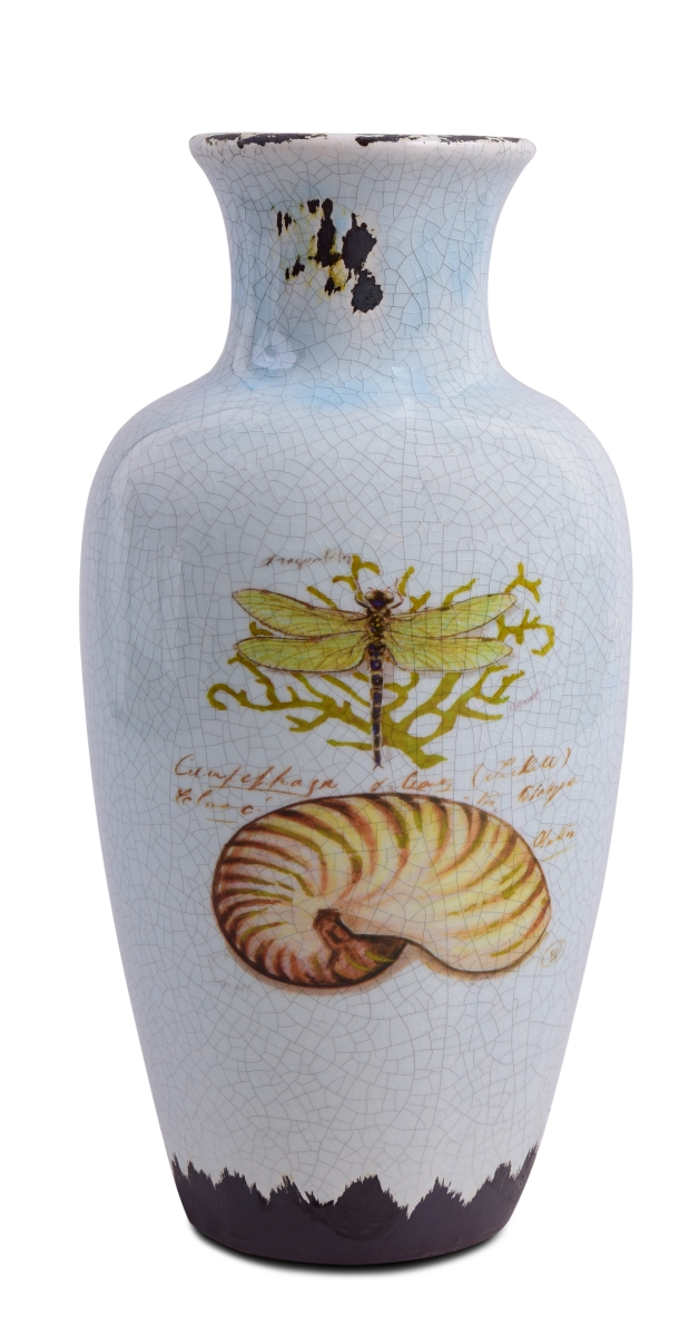 Keramická váza s dobovou patinou výška 29 cm