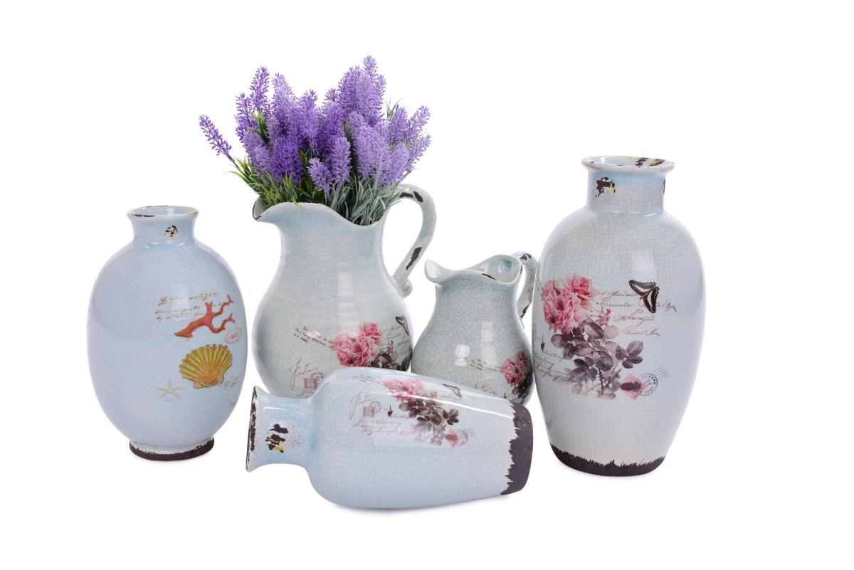 DA13141-Keramická váza s dobovou patinou výška 29 cm