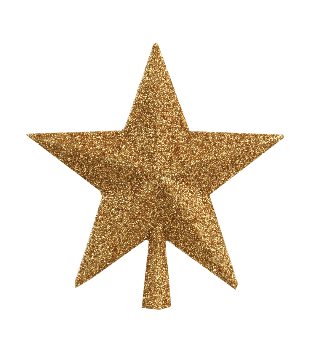 Zlatá špice ve tvaru hvězdy výška 23 cm