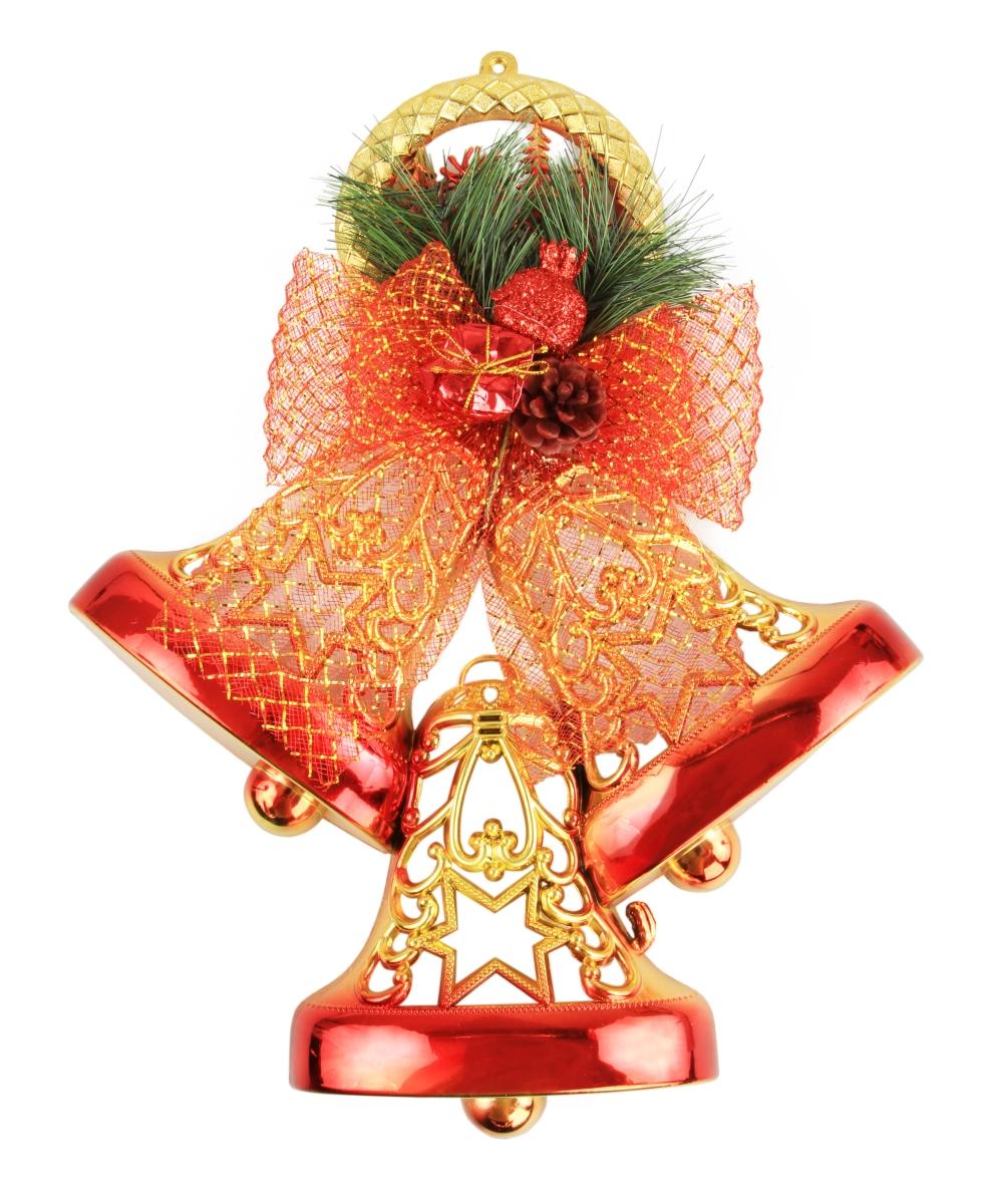 Závěsná dekorace, ve tvaru tří zvonků