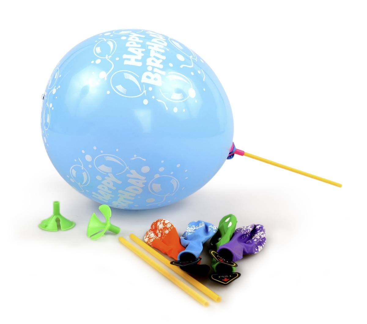5 ks LED LIGHT balónky  nafukovací svítící  mix barev a nápisů