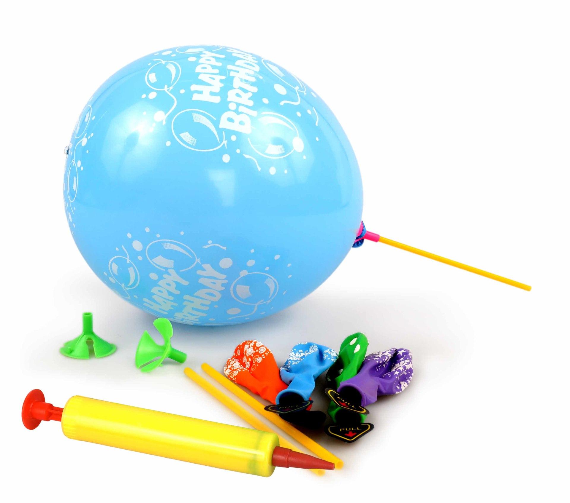 5 ks LED LIGHT balónky nafukovací svítící + PUMPIČKA ZDARMA