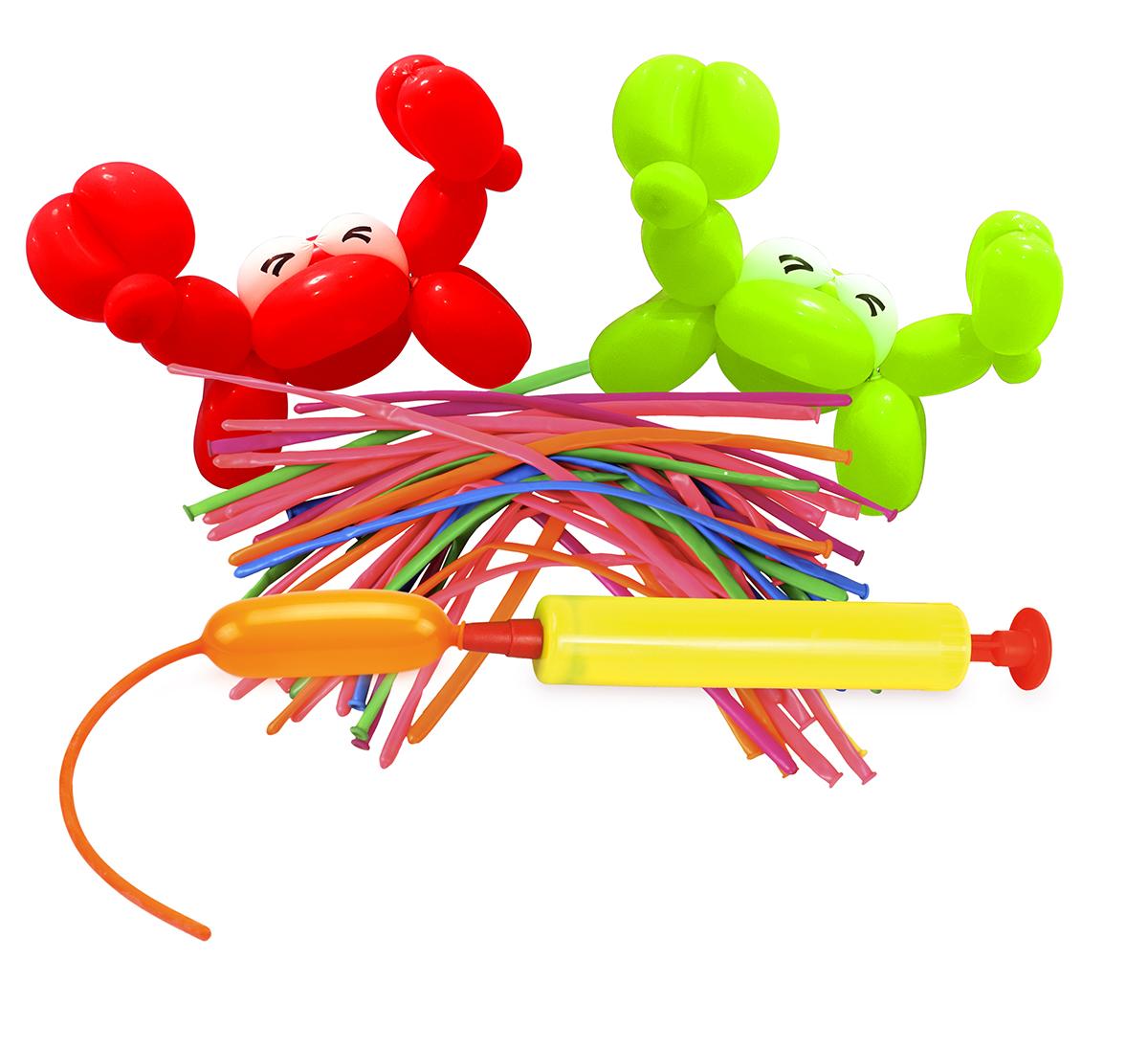 50 ks tvarovacích dlouhých balónků + PUMPIČKA ZDARMA  mix.barev