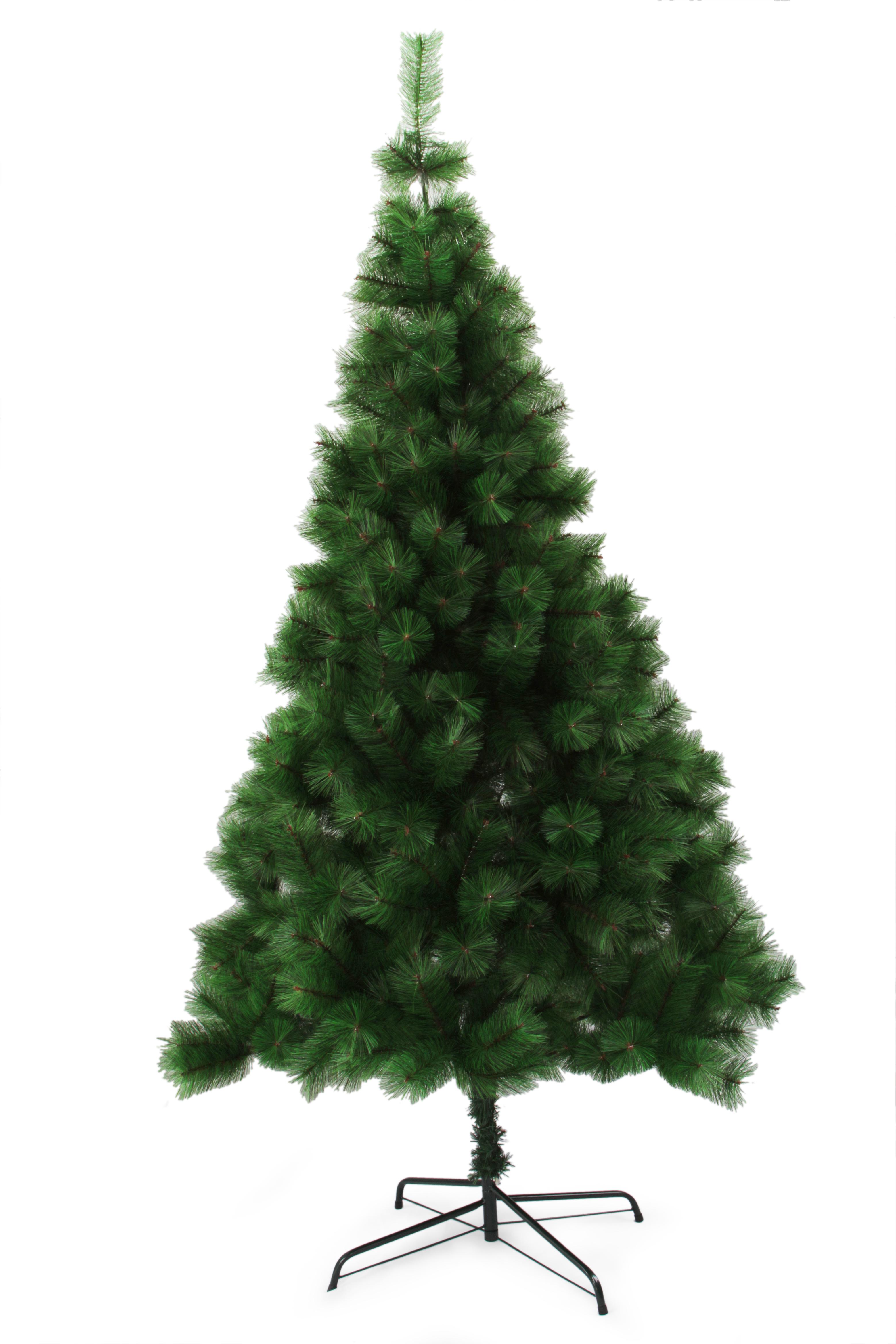 180 cm Vánoční stromek se stojanem, ZELENÁ BOROVICE