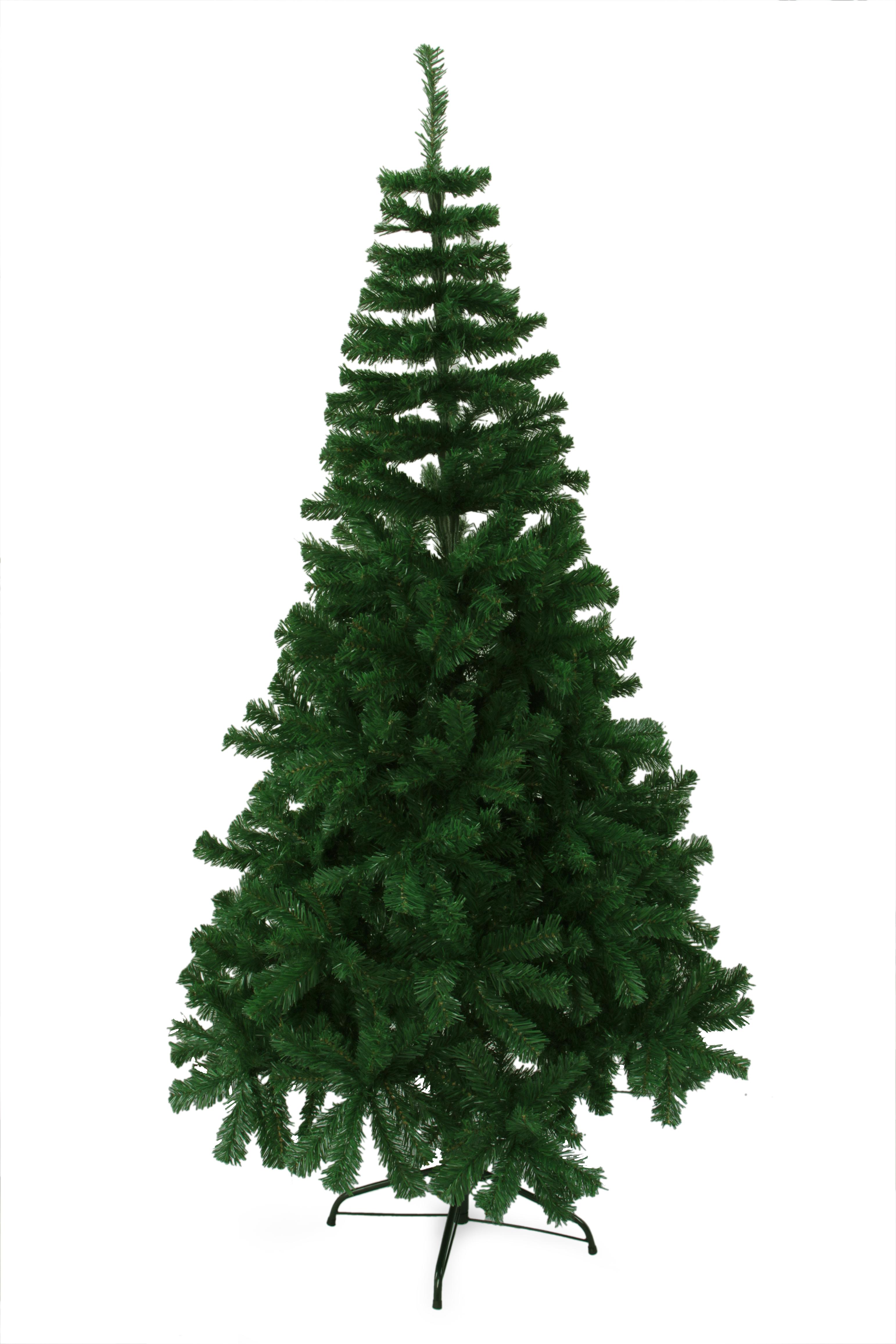 240 cm vánoční stromek se stojanem, ZELENÝ SMRK