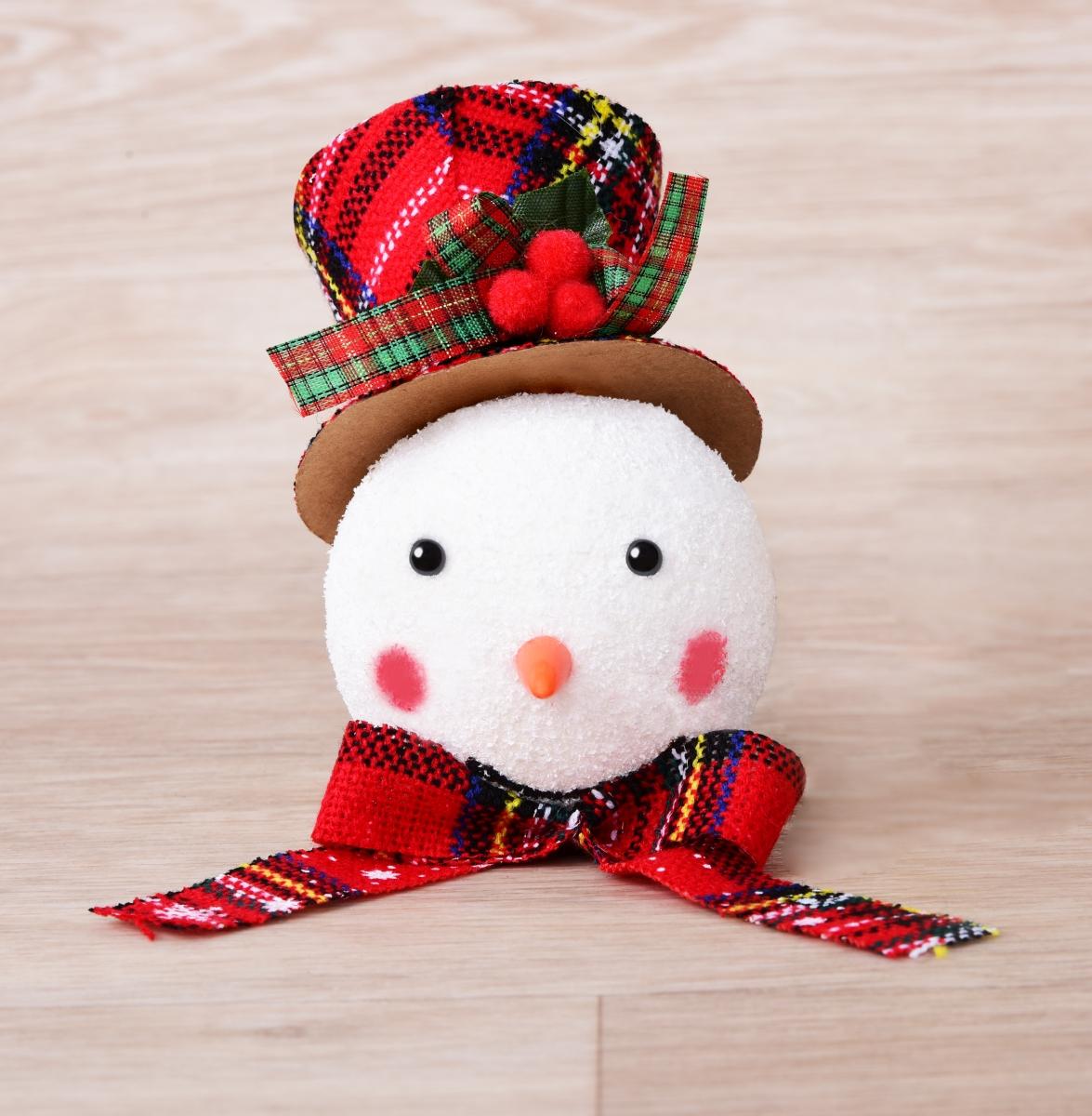 Hlava sněhuláka