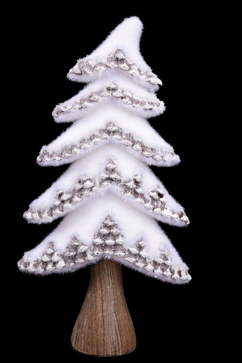 XL zasněžený stromek