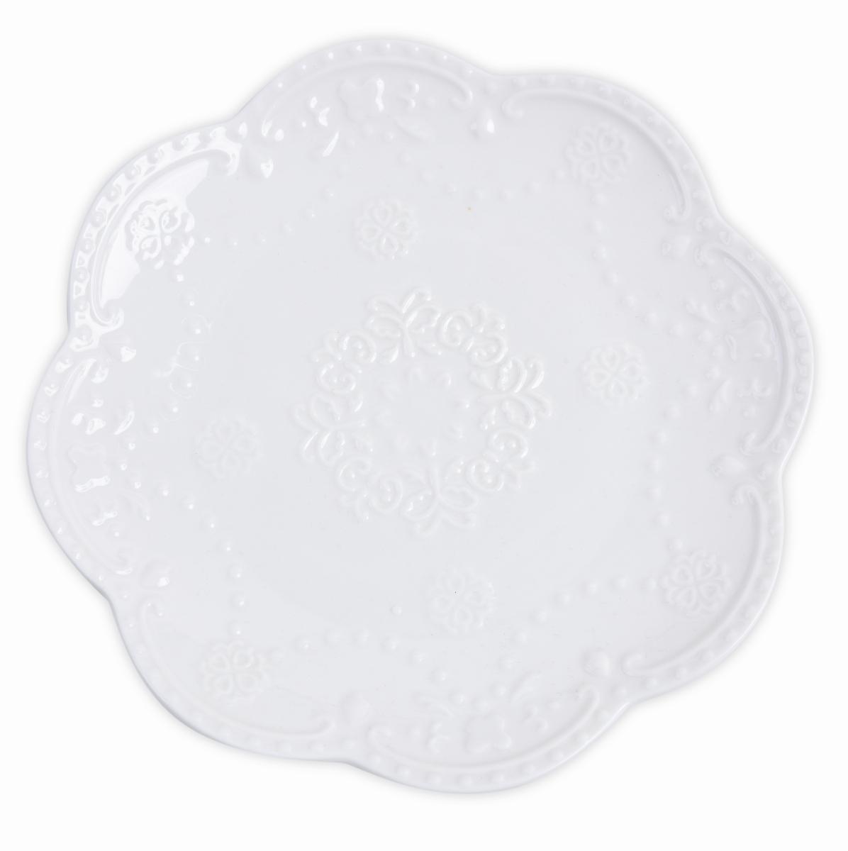 Porcelánový talíř, servírovací