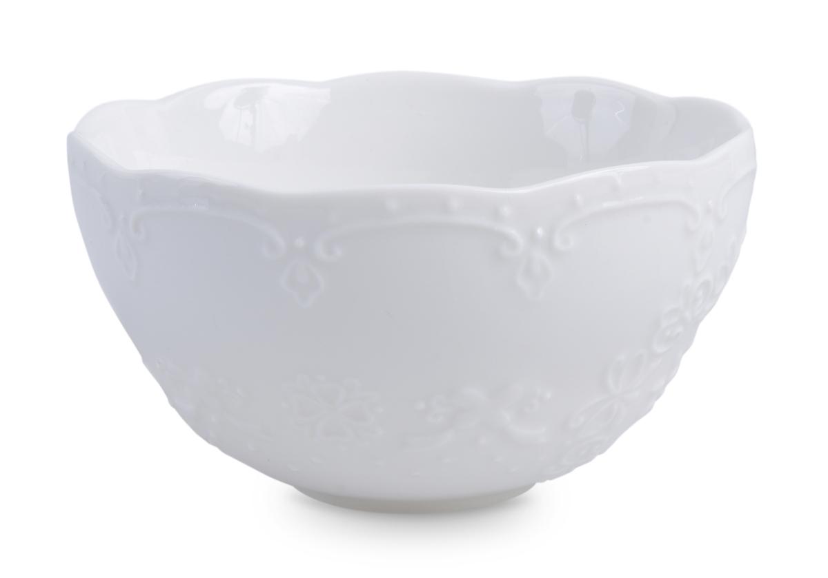 Porcelánová miska ROMANTIC bílá