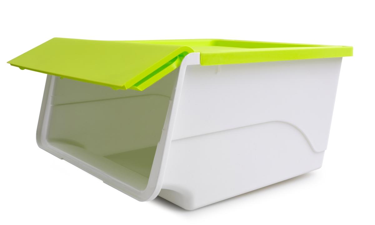 ŠTOSBOX plastový box jasně zelený