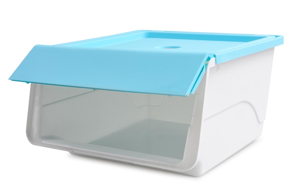 ŠTOSBOX plastový box tyrkysový