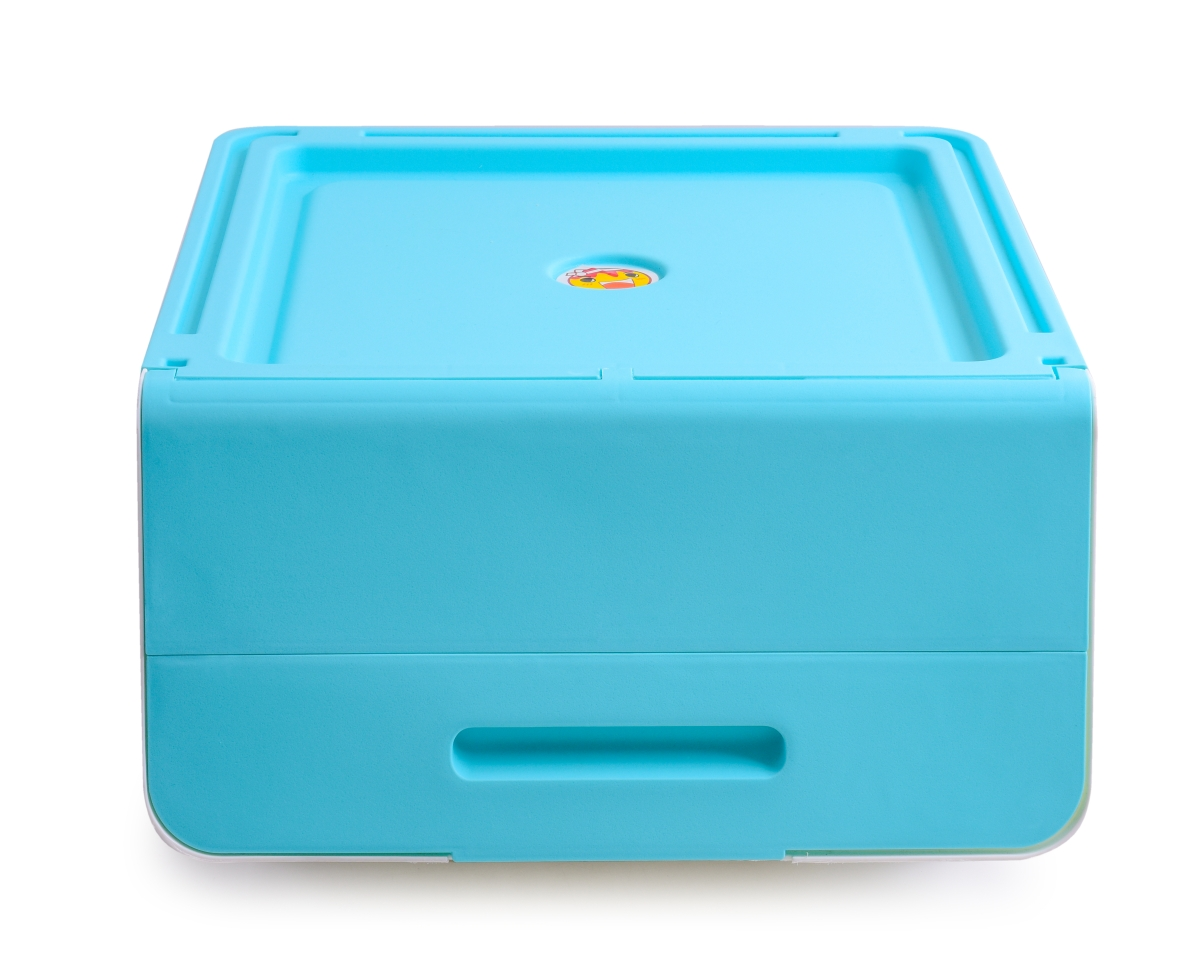 DA14421-ŠTOSBOX plastový box tyrkysový