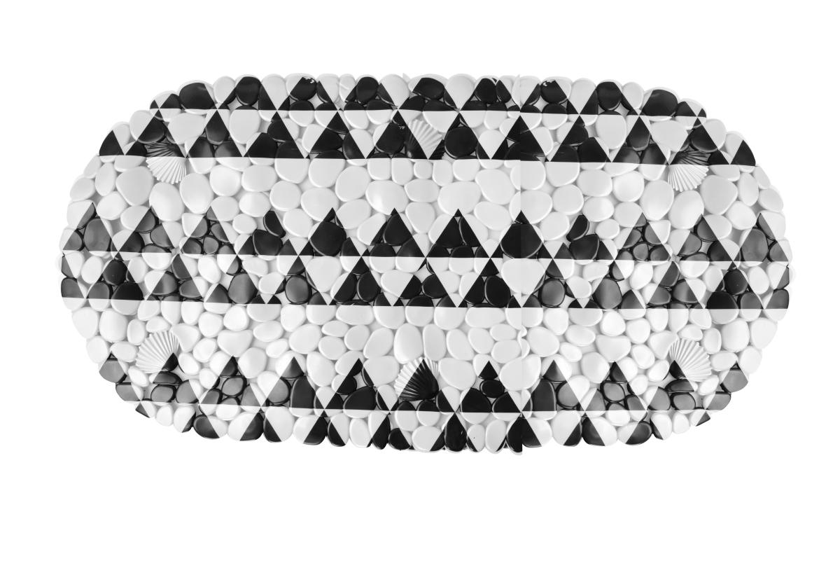 Protiskluzová podložka do vany black&white