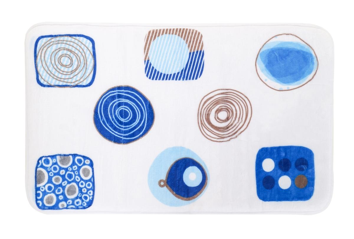 Koupelnová předložka blue ornaments