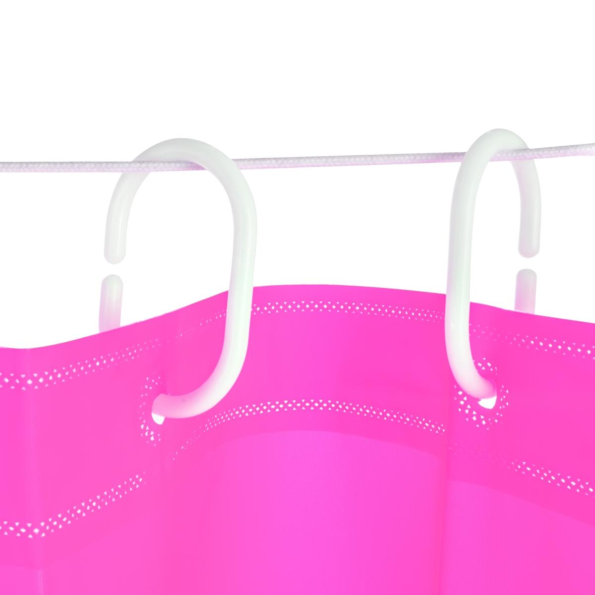 FC14131-Kúpeľňový záves pastelovo ružový