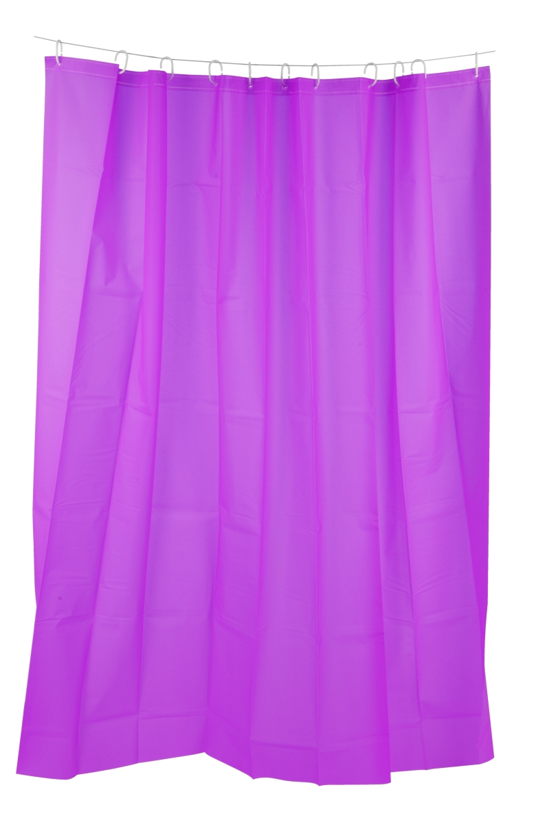 Koupelnový závěs, fialový