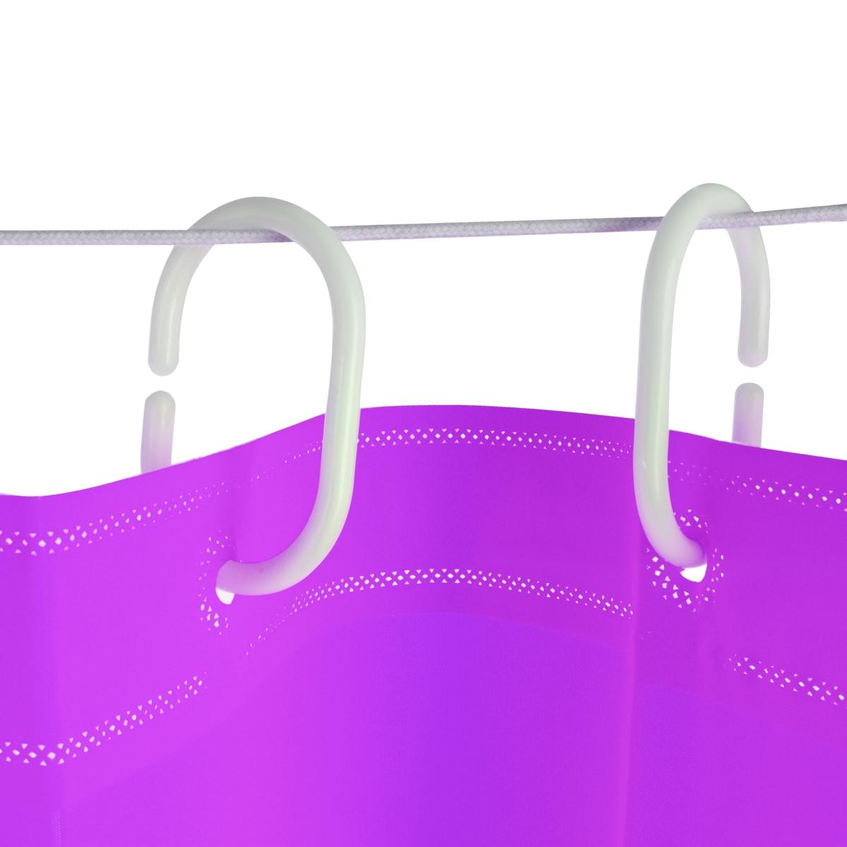 FC14125-Kúpeľňový záves fialový