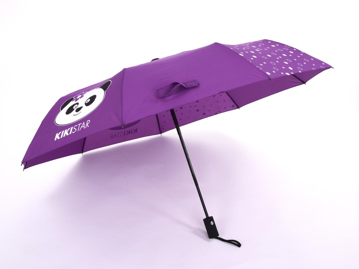 FC13532-Automatický dáždnik KIKISTAR® purple