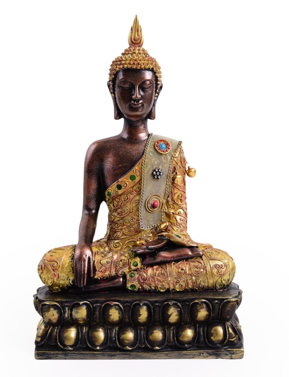BUDDHA, dekorativní socha