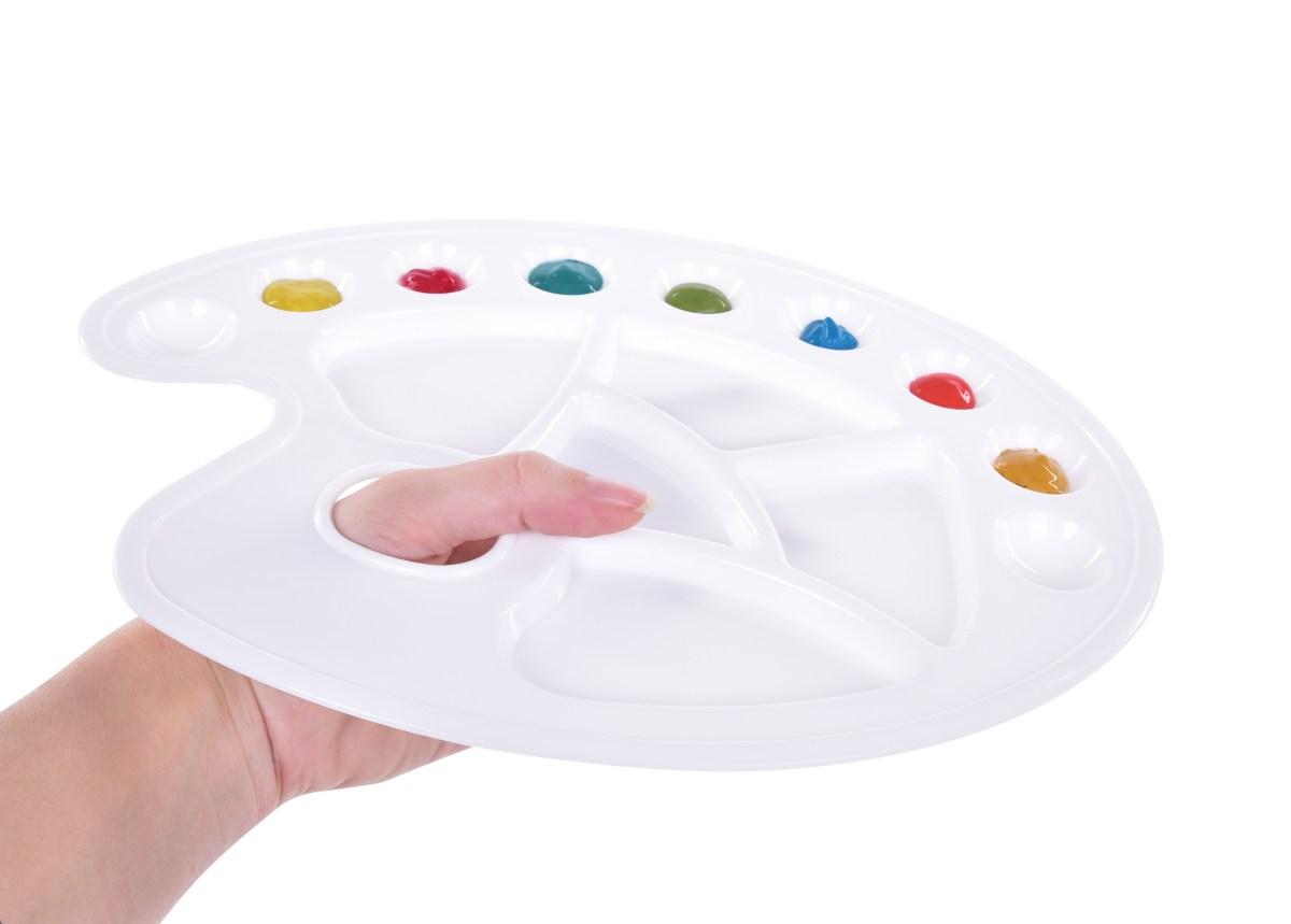 XL paleta na malování s otvorem pro prst