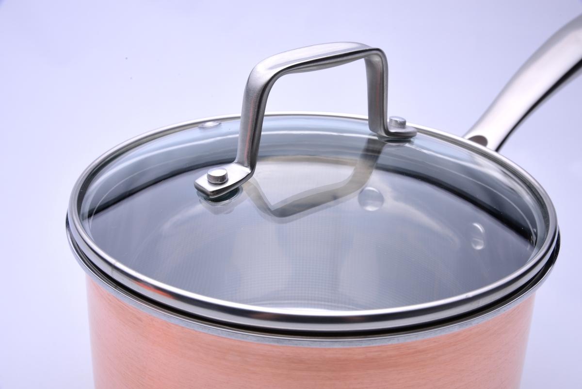 FC19641-Rajnica s pokrievkou CUPRUM & STEEL INDUCTION objem 1700 ml