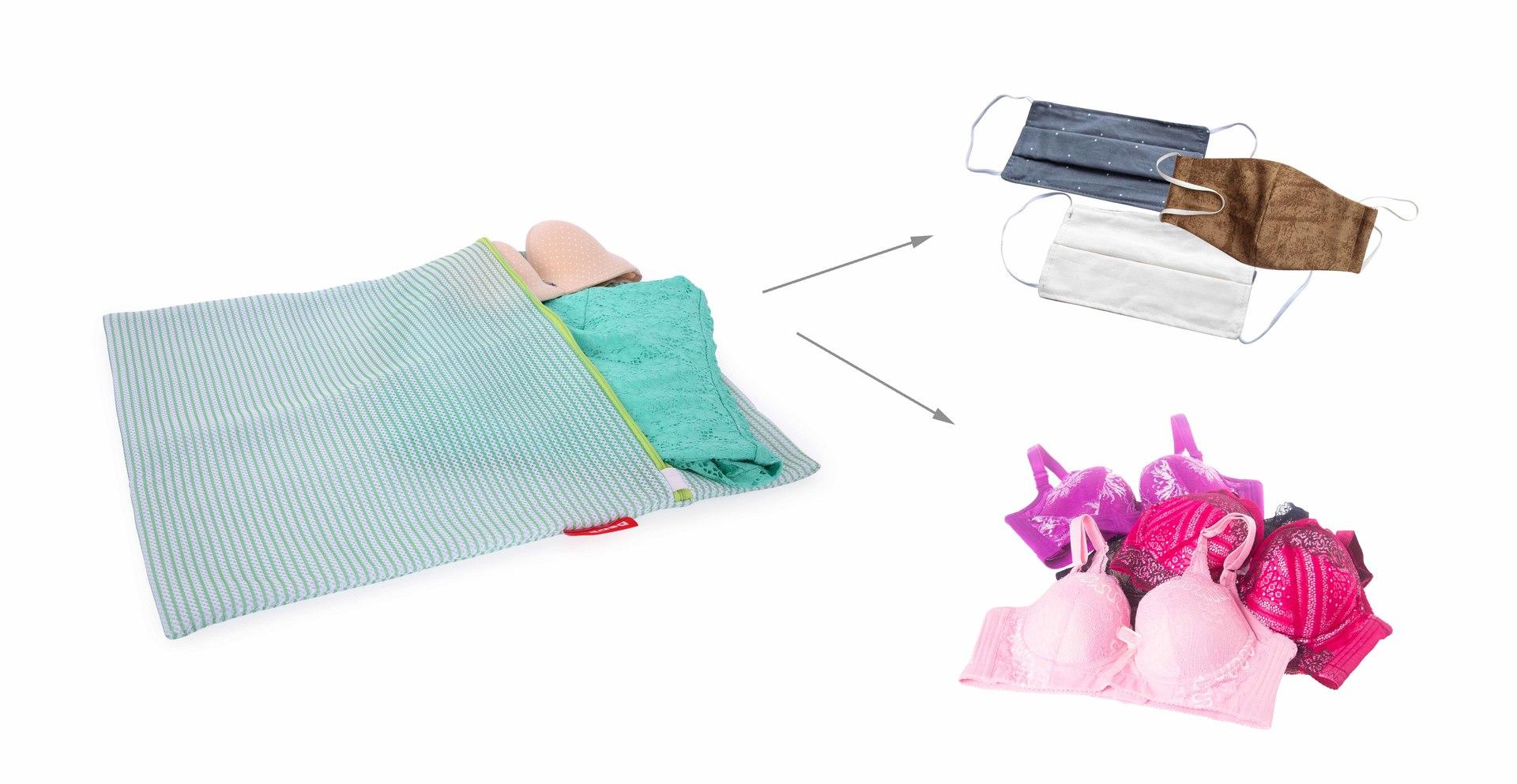 XXL sáček na praní jemného prádla, odolná sendvičová síťovina
