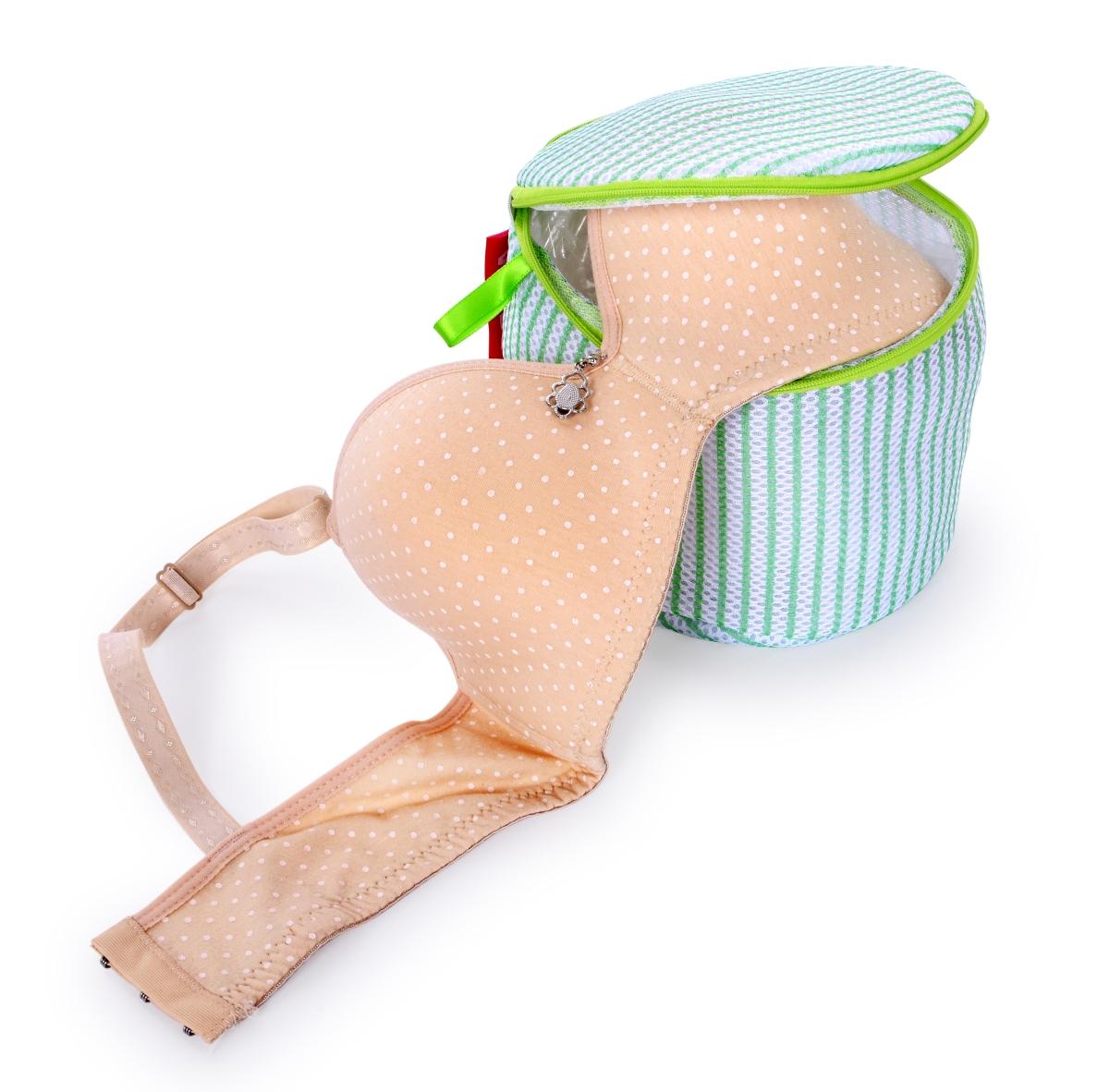 Košíček na praní podprsenek a jemného prádla, sendvičová síťovina