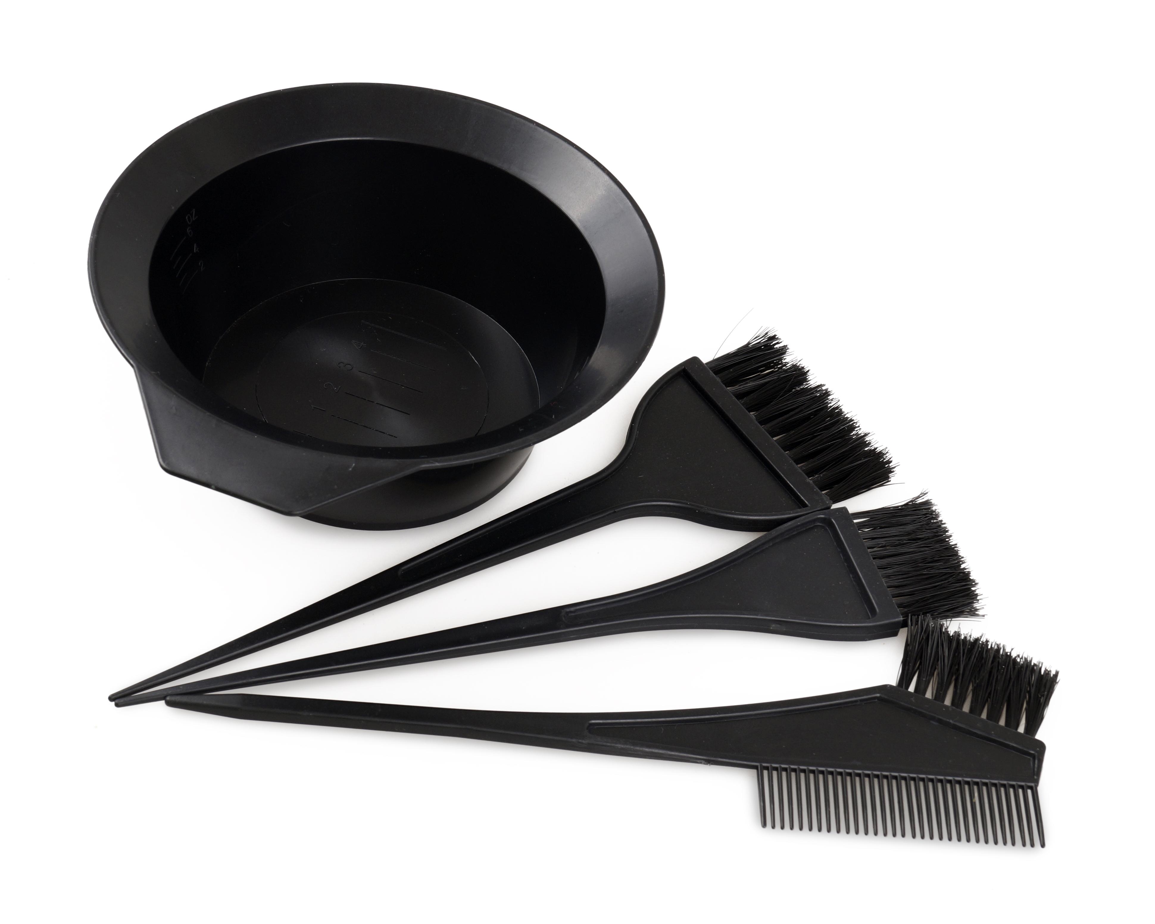 Set na barvení vlasů 4 dílný set