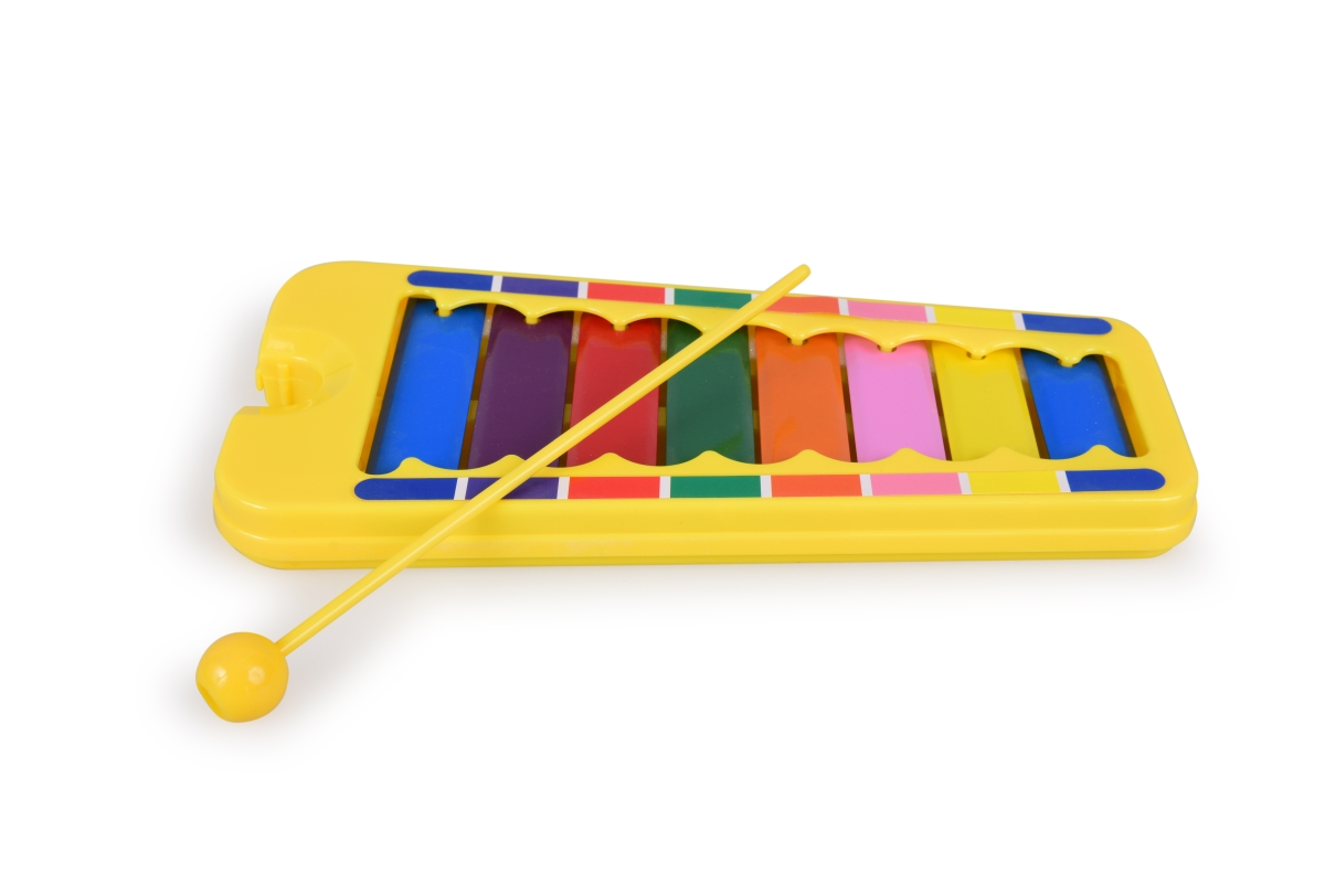Dětský XYLOFON  pro nejmenší s jednou paličkou