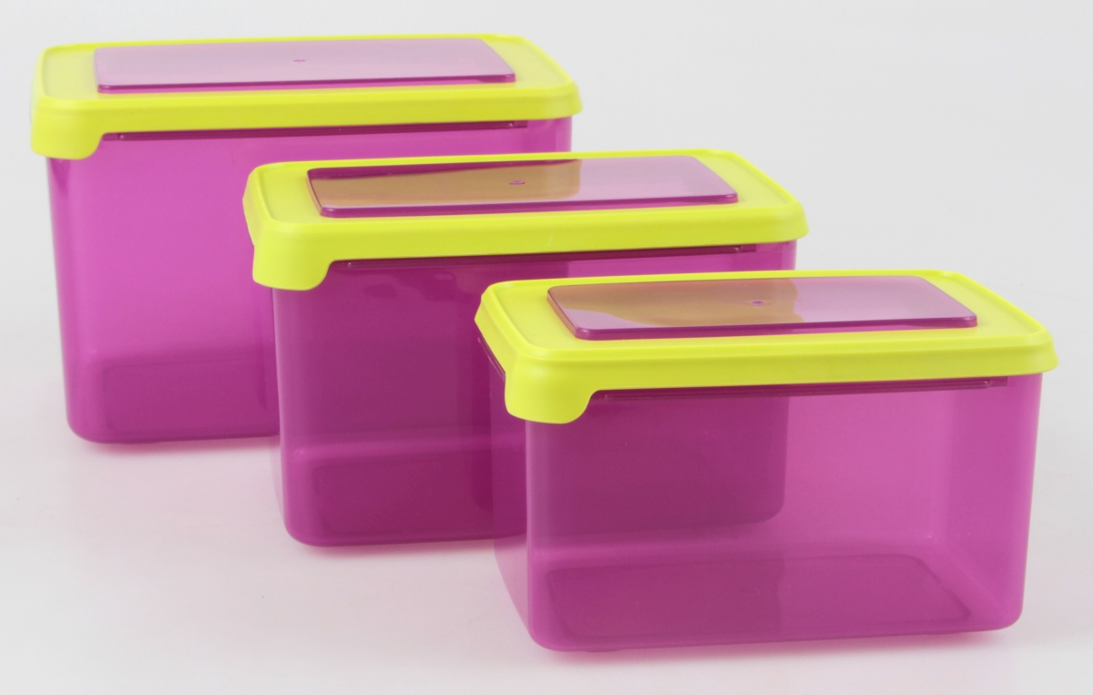 DA19872-3 ks SILIBOX sada troch boxov 950 ml + 1600 ml + 2500 ml