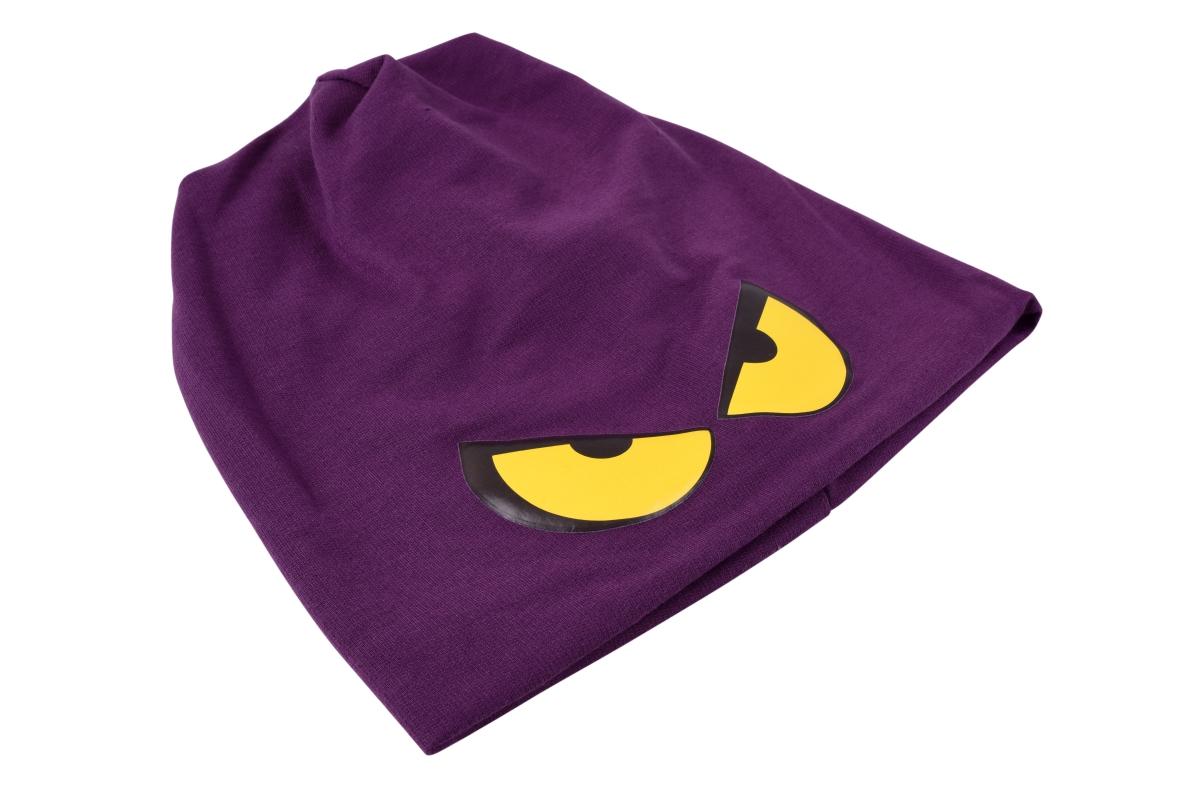 REBELITO® pohodlná módní čepice fialová