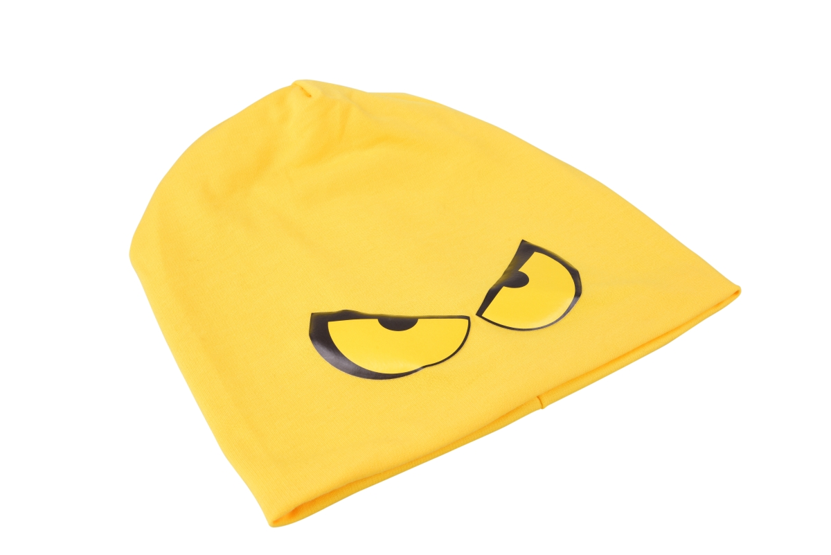 REBELITO® pohodlná módní čepice žloutková