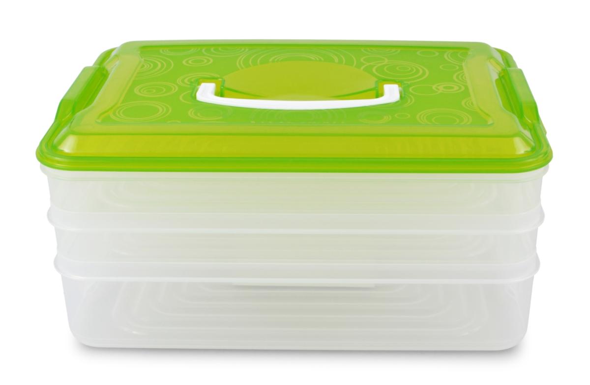 3 PATROVÝ XXL BUCHTONOŠ  box na potraviny 1 x 3500 ml + 2 x 2000 ml