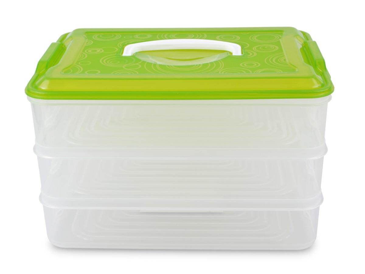 3 PATROVÝ XXL BUCHTONOŠ  box na potraviny 3 x 3500 ml