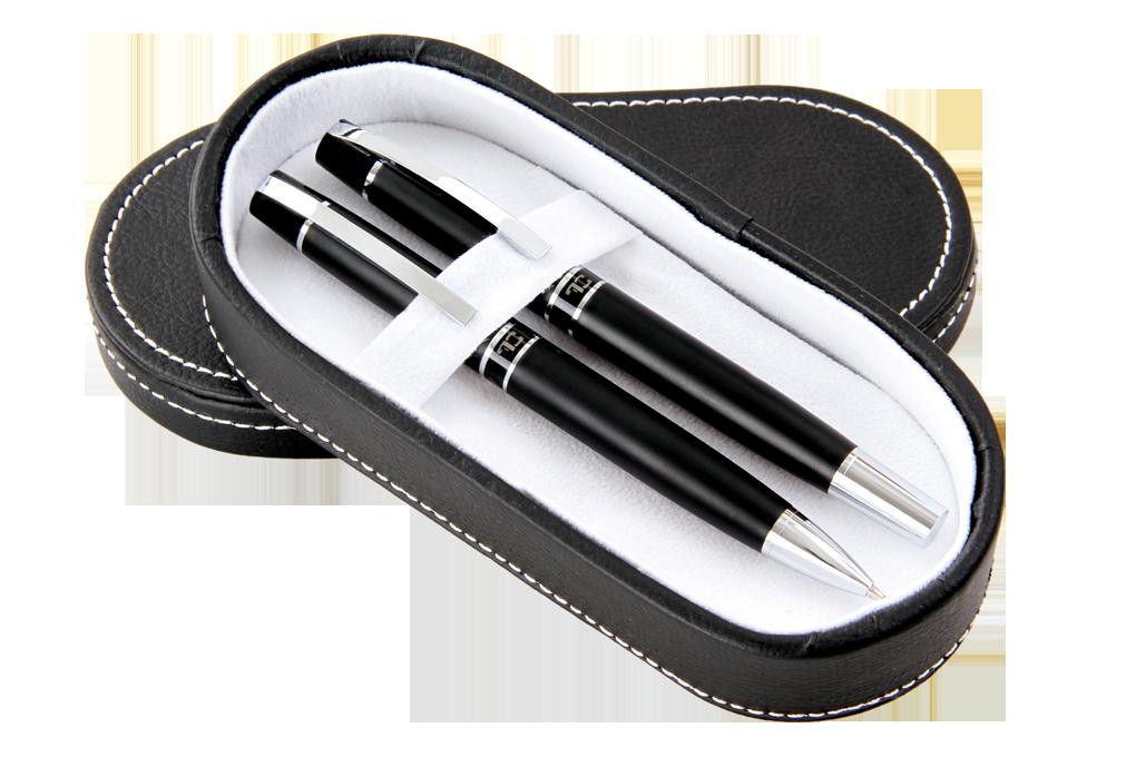 Dárkový set Matte kuličkového pera a propisovací tužky