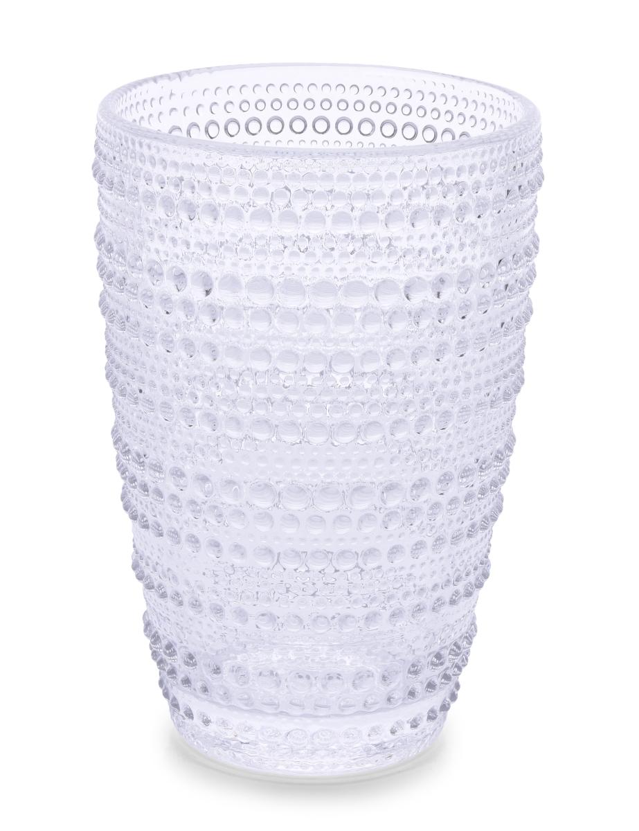 XL Sklenice s reliéfním povrchem, objem 380 ml
