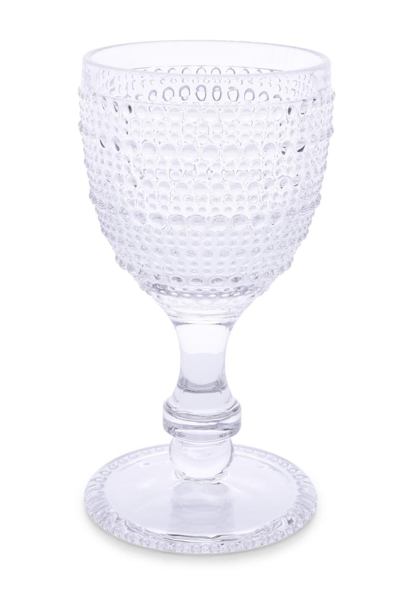 Skleněný pohár, s reliéfním povrchem