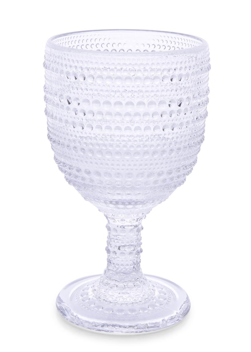XL Skleněný pohár, s reliéfním povrchem